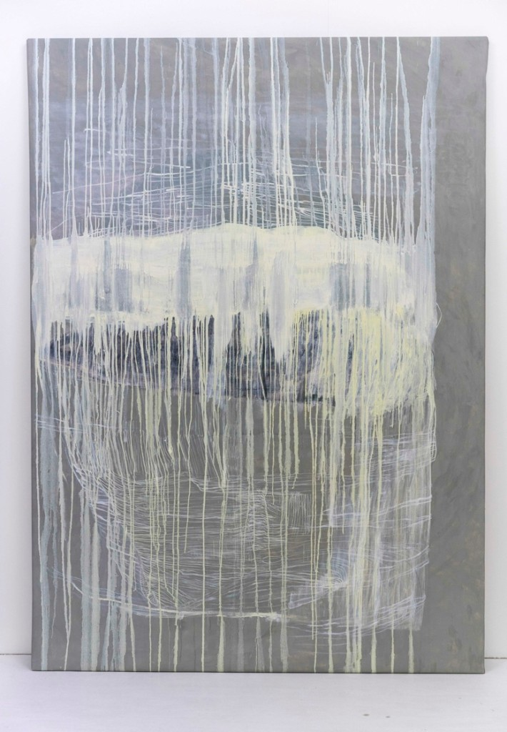 Utan titel 2014 Olja på duk 200 x 135 cm
