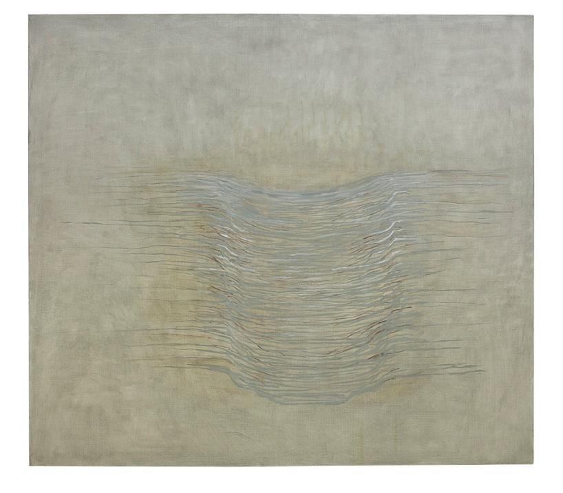 Utan titel Olja på duk 135 x 150 cm 2