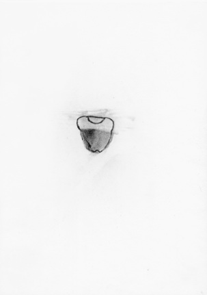 Utan titel blyerts på papper 30 x 21 cm 4