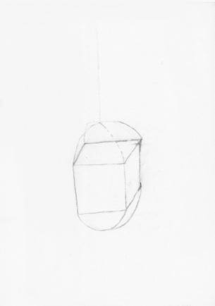 Utan titel blyerts på papper 30 x 21 cm 9